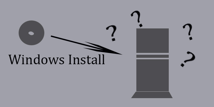 Windows Install graphic